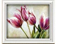 """ Tulips""counted cross stitch kits"