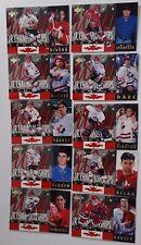 1994-95 Upper Deck UD Team Canada JR Championships Team Set of 10 Hockey Cards