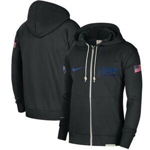 New Nike Team USA Basketball 2020 Olympic Showtime Hoodie Men's Large NWT NBA