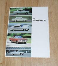 Vauxhall Range Brochure 1967-Viva Victor 101 VX4/90 Cresta de luxe Vicomte