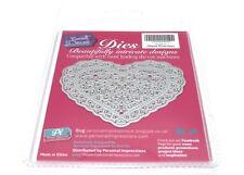 Sweet Dixie Filigree Floral Heart Die -  Crafting Die-Cutting  - See details