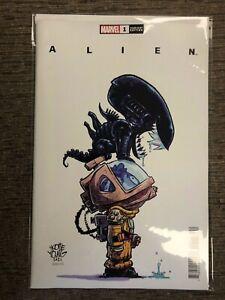 Alien 1 Skottie Young variant cover 2021 Marvel Comics NM NEW