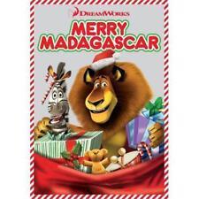 Merry Madagascar (DVD, 2013) Christmas Madagascar Movie