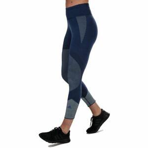 Women's adidas 25/7 Primeknit Elastic Waist Running Tight Leggings in Purple