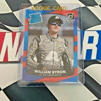 WILLIAM BYRON RC 2018 Donruss Panini #26 Rated Rookie AXATLA NASCAR Racing QTY