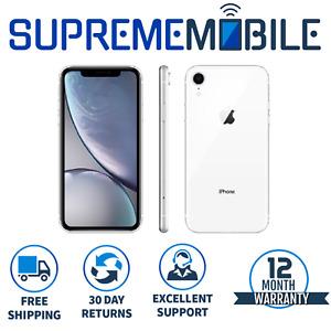 Apple iPhone XR White 64GB 🍎 Sim FREE Network Unlocked iOS Smartphone - A1984