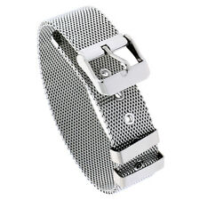 Stainless Steel Belt Buckle Clasp Mesh Bracelet