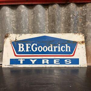 B.F. GOODRICH TYRES Genuine Vintage Tin Sign