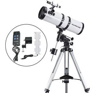 Visionking 6 inch 150 - 1400mm EQ Newtonian Astronomical Telescope + Motor