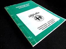 alfa romeo alfetta 1977 repair service manual