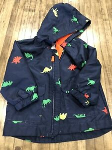 Carter's Baby Boy Raincoat with Dinosaurs - Size 18 months