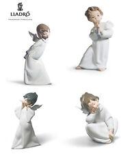 Lladro Angel Figurines Set 4 Pcs Assorted - Original Box with Certificate