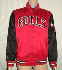 b15b4e36c2a2f9 Chicago Bulls Red Black Mitchell   Ness Authentic Throwback Warmup Jacket  ...