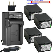 Kastar Battery AC Charger for Sony NP-FV100 & Sony DCR-SX15 DCR-SX20 DCR-SX21