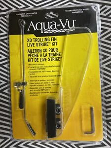 *NEW* Aqua-Vu XD Trolling Fin Live Strike Kit 400-7472 - FAST SHIPPING!