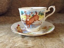 'Hunting In Canada' Royal Albert Cup And Saucer - Extremely Rare!