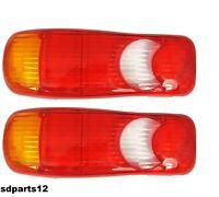 "2x Garde Boue Citroen Jumper Renault Master Mascott 15/"" 16/"" roues DOMAR Ailes"