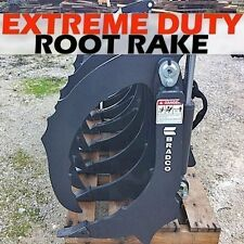 Bradco 78 Extreme Duty Rakeroot Grapplefits Skid Steersalso Use As Scarifier