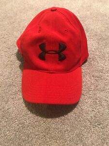 Red Under Armour One Size Fits Most Hat