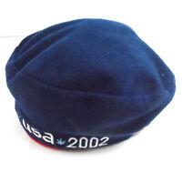 ROOTS 2002 TEAM USA Winter Olympics Beret Cap Hat Salt Lake City, Utah USA