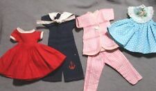 "Lot of Vintage Clothes for 8"" Betsy McCall Doll - Dresses, Pajamas, Jumpsuit"