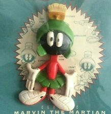 More details for marvin the martian moveable pin badge resin cast looney tunes 1994