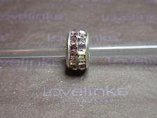 ** Genuine Lovelinks LIGHT AMETHYST PURPLE CHESS Crystal Charm **