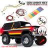 LED Light Set For 1:10 RC Car Crawler Traxxas TRX4 Ford Bronco Ranger XLT DIY