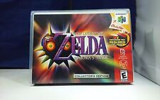 The Legend of Zelda Majora's Mask N64 Nintendo 64 Game Case with Artwork NO GAME