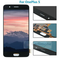 Black For OnePlus 5 LCD Display Touch Screen Digitizer Assembly With Tools Lot
