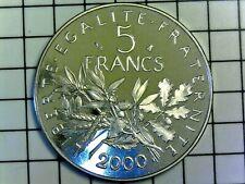 5 francs Semeuse 2000 BE (R1) (Belle Épreuve) N4 Pessac F.341/36 var - FDC