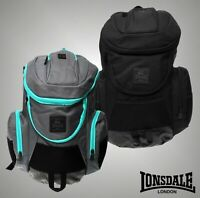 Lonsdale Travelling Padded Straps Niagara Backpack Bag W34 x D19 x H38 cm