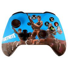 """Fortnite"" Xbox One S Custom Un-Modded Wireless Microsoft Controller"