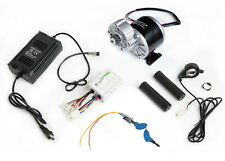 350W 24V electric GEAR motor Kit w Controller+Thumb Throttle+Charger+KeyLock