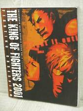 KING OF FIGHTERS 2001 Fighting Obsession Guide Book EB793*