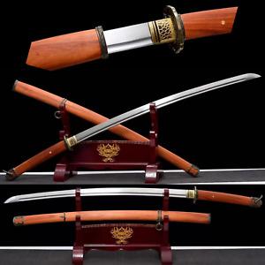 Handmade High Function T1095 steel Japanese 98 Saber Sharp Samurai Katana Sword