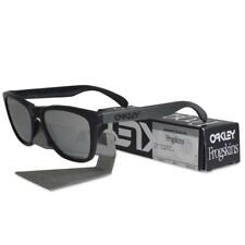 Oakley OO 9013-78 FROGSKINS Machinist Matte Black Chrome Iridium Mens Sunglasses