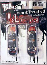 Tech Deck JAKE BROWN Blind New & Thrashed 96mm Fingerboard 2 Finger Skateboards