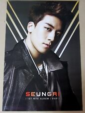SEUNGRI - VVIP 1st mini / BIGBANG / OFFICIAL POSTER / HARD TUBE CASE