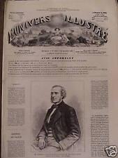L'UNIVERS ILLUSTREE 1871 N 868 LES POMPIERS DE CHICAGO