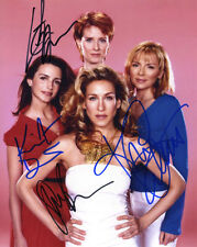 Sex and the City Cast + Autogramm Jessica Parker Cattrall Davis Nixon  Autograph