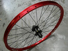 "Halo T2 Rear Wheel (26"") Shimano Disc Hub (RED) Mountain Bike 8 9 10 speed"