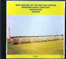 WAR GRAVES OF PERONNE ROAD, MARICOURT CD ROM