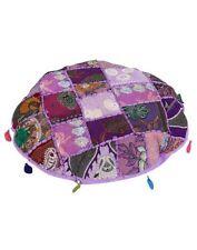 Purple 100% Cotton Ottomans, Footstools & Poufs