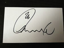 JACK RODWELL - SUNDERLAND FOOTBALLER - SIGNED WHITE INDEX CARD