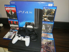 Sony PS4 Pro Video Game Console 1TB - Jet Black