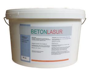 Betonlasur Farblos (Nachwünsch Abtönbar) 10 oder 5 Liter