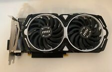 (NEW) MSI Radeon RX 470 ARMOR 8G DVI port only + HDMI converter support 1monitor