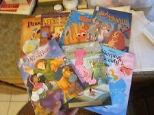 Lot of 7 Walt Disney hard cover Mouse Works Read Aloud Finding Nemo 8x11 LOTFOL