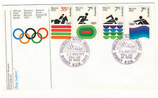 First Day of Issue Olympics Australian Stamps